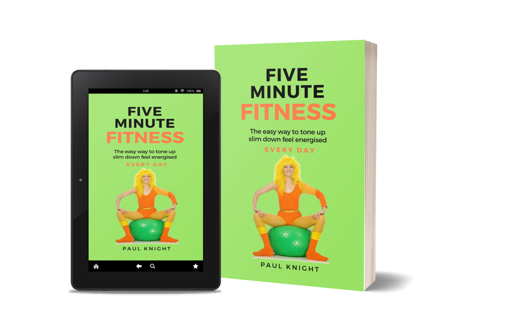 fitness weight loss lfestyle books paul knight coaching